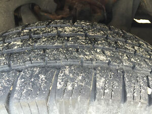 4 - 31 in tires like new on Toyota 6 bolt rims Kitchener / Waterloo Kitchener Area image 2