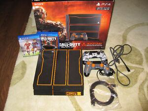 PS4 Limited Edition Black Ops 3