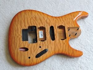 Ibanez S470 DXQM Quilted Maple guitar body for sale