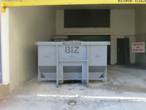 DISPOSAL BIN RENTALS  for all types of clean ups  - BIZ BINS