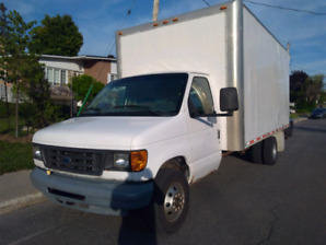 Ford e450 cube 2005 16ft.