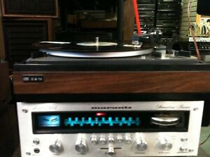 Vintage MARANTZ Receiver DUAL Turntable & PSB Speakers