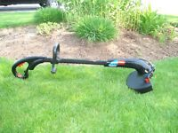 "TORO 15"" ELECTRIC TRIM & EDGE GRASS TRIMMER $39."
