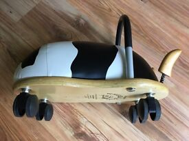 Ride-on Wheely Bug Cow Toy VGC