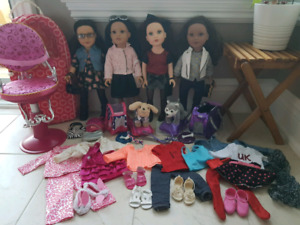 Journey Girls Dolls, Pets, and Accessories
