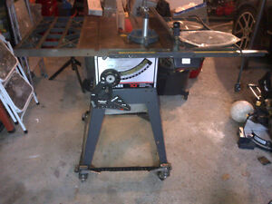 "10"" Sears Craftsman Contractor's Table Saw"