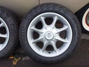 "Set of 4 - 15"" ARE 5x120 Rims - Fits BMW"