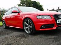 Audi A4 Avant 2.0TDIe Black Edition red 2011