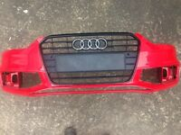2015 Audi A4 B8 s-line s4 bumper with black edition grill