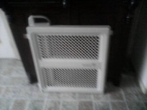 Two baby safety gates