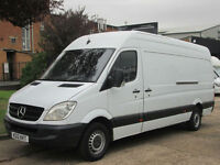 2012 12-REG Mercedes-Benz Sprinter 313CDI LWB HIGH ROOF. CRUISE. BLUETOOTH