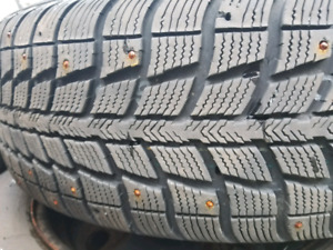 p215 65 r17 winter tires(studded)