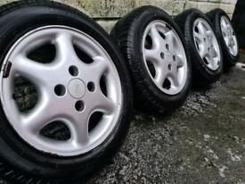 Ford alloy wheels 4x108 for Fiesta Ka Focus escort
