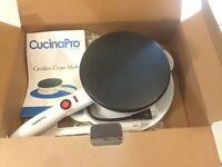 Brand new Cucina Pro Cordless Crepe Maker