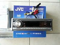 JVC Car Headunit Stereo CD DVD USB Deck Used