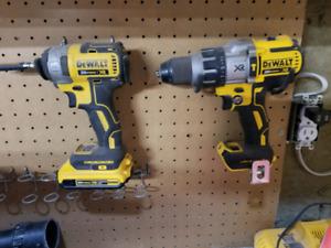 Dewalt impact and hammer drill