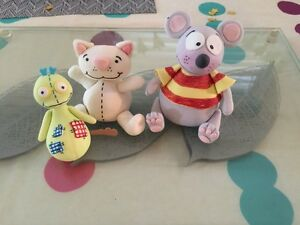 Cake toppers - Toopy, Binoo and Patchy Patch set