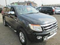 2012 FORD RANGER Pick Up Double Cab Limited 2.2 TDCi 150 4WD Auto