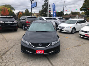 2013 Honda Civic LX **No accident & One Owner*