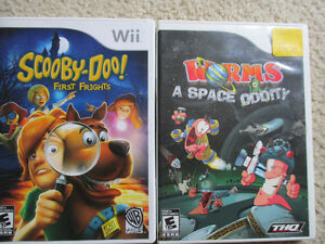 nintendo Wii  two games