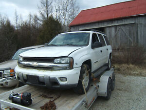 Parting Out 2003 Chevrolet Trailblazer LT