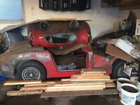 "(PENDING)Austin Healey ""Bug eye sprite"" project"