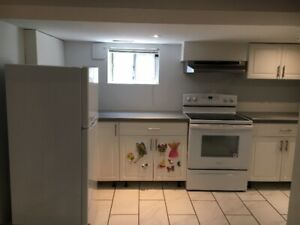 1 bedroom basement (renovated) available mid July or August