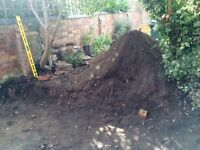Free top soil - about on tonne available