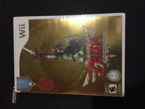 The legend of Zelda Skyward Sword brand new sealed Wii
