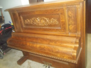 Vintage Piano(over 130 years old) and Bench