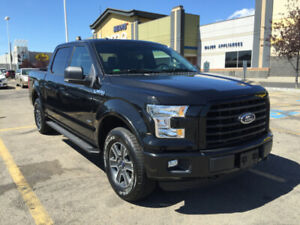 2015 Ford F150 EcoBoost 2.7L XLT Black on Black