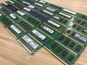 SPÉCIAL 10$ MÉMOIRE RAM DDR2 4GB 2X2GB PC TOUR TOWER 667/800 MH