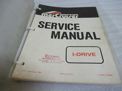 Mercruiser Outboards I-Drive Factory OEM Service Repair Manual P/N C-90-86137