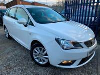 ✿2012/62 Seat Ibiza 1.6 TDI 105 SE CR, Estate, Diesel, White ✿NICE EXAMPLE✿