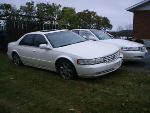 2001 and 2002 Cadillac STS