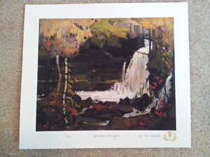 """Tom Thomson """"Northern Icons Suite 2"""" Limited Edition 3 piece set"""