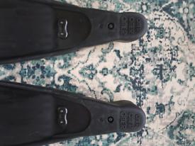 Black Omer Stingray freediving fins size 39-40 (UK size 5/6)
