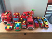 Plastic vehicle collection baby toddler