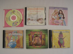 CD de musique pour tout petits.