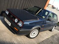 VW Golf GTI 16V Mk2 Classic 1989 - Volkswagen Golf Mk 2 - Not Mk1 - 3 door - Rare Vehicle
