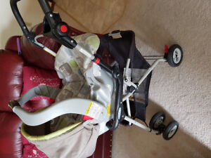 Graco Car Seat, Base and Stroller