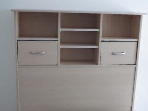 MOVE* LAST SALE--Elegant Wood Bookcase Headboard