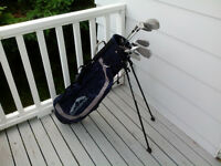 Mens Right Hand 7pc Knight Golf Set & Bag