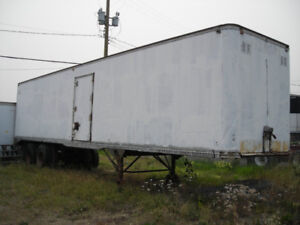 $3500.00obo 40 ft Storage or Shop trailer with shelving