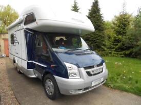 Hymer C512 4 berth rear garage coachbuilt motorhome for sale ref 15179