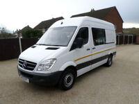 2012 Mercedes-Benz Sprinter 313 CDi MWB, Welfare Unit, Mess Van, Toilet Van