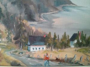 Micheline Gélinas - Artiste peintre - 2 toiles originales signée