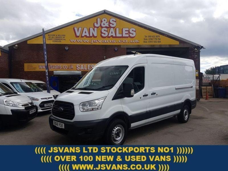 52841abe05423e 2016 16 FORD TRANSIT T350 125 BHP L.W.B MED TOP ONLY 66000 MLS 1 OWNER  DIESEL