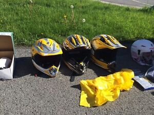 Biking Helmets 25$ each