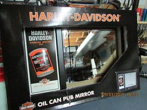 HARLEY DAVIDSON COAT RACK AND MIRROR, NEW IN BOX